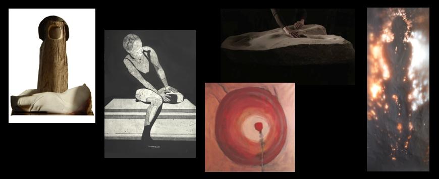 """""""Ona"""" / rzeźba, malarstwo, grafika, instalacja"""
